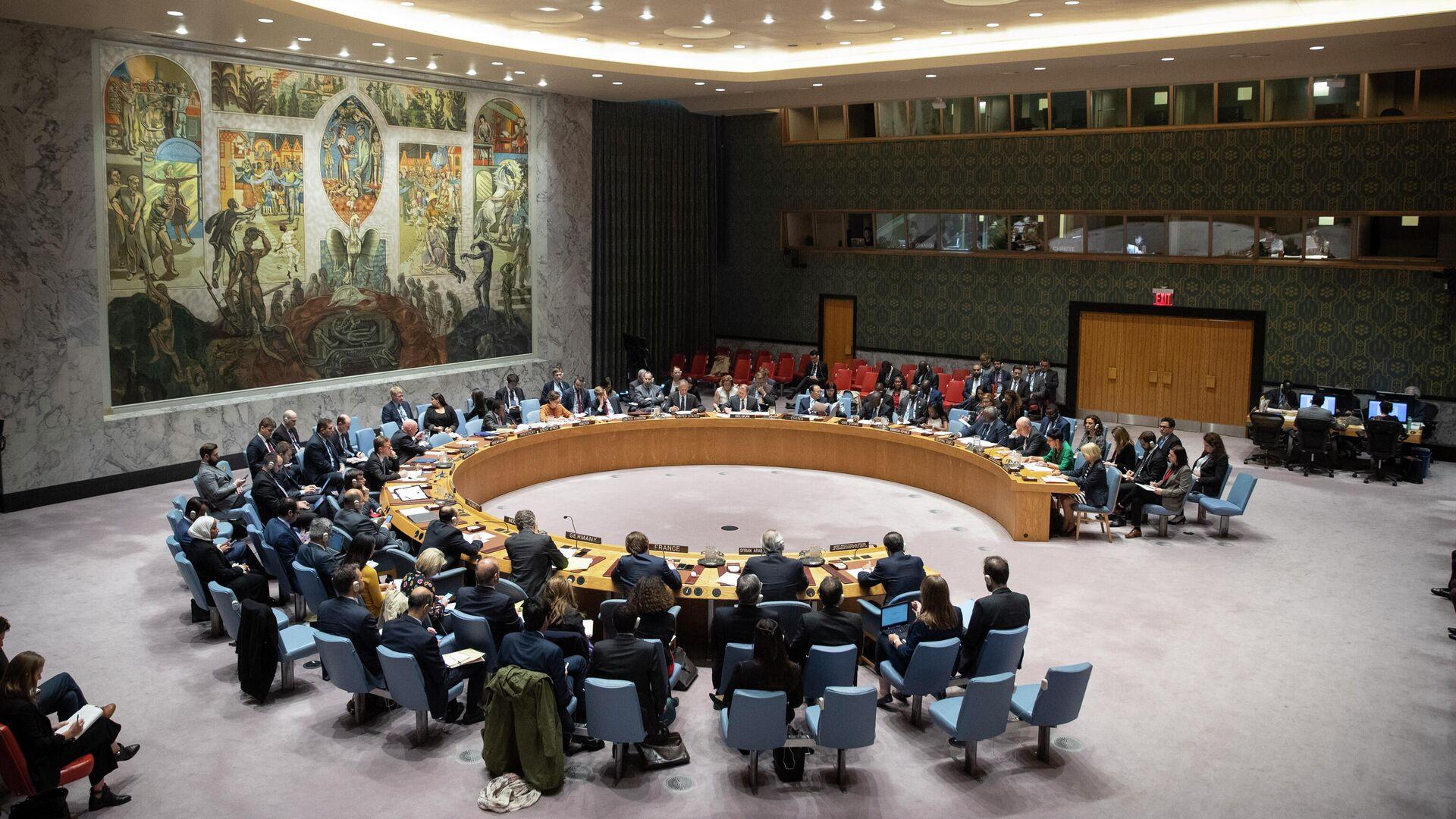 Заседание Совета Безопасности ООН - РИА Новости, 1920, 05.10.2021