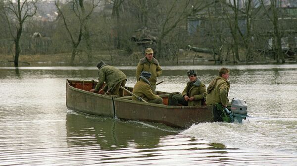 Весенний паводок в Ступинском районе Московской области