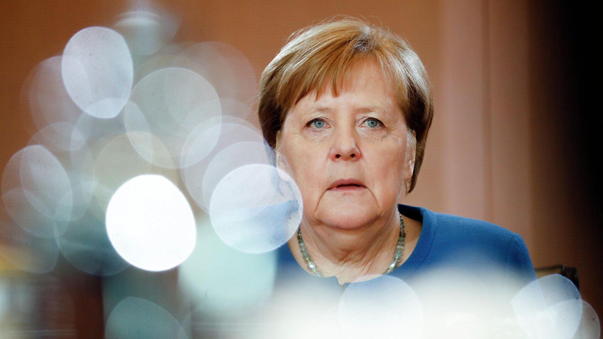 Канцлер Германии Ангела Меркель - РИА Новости, 1920, 31.12.2020