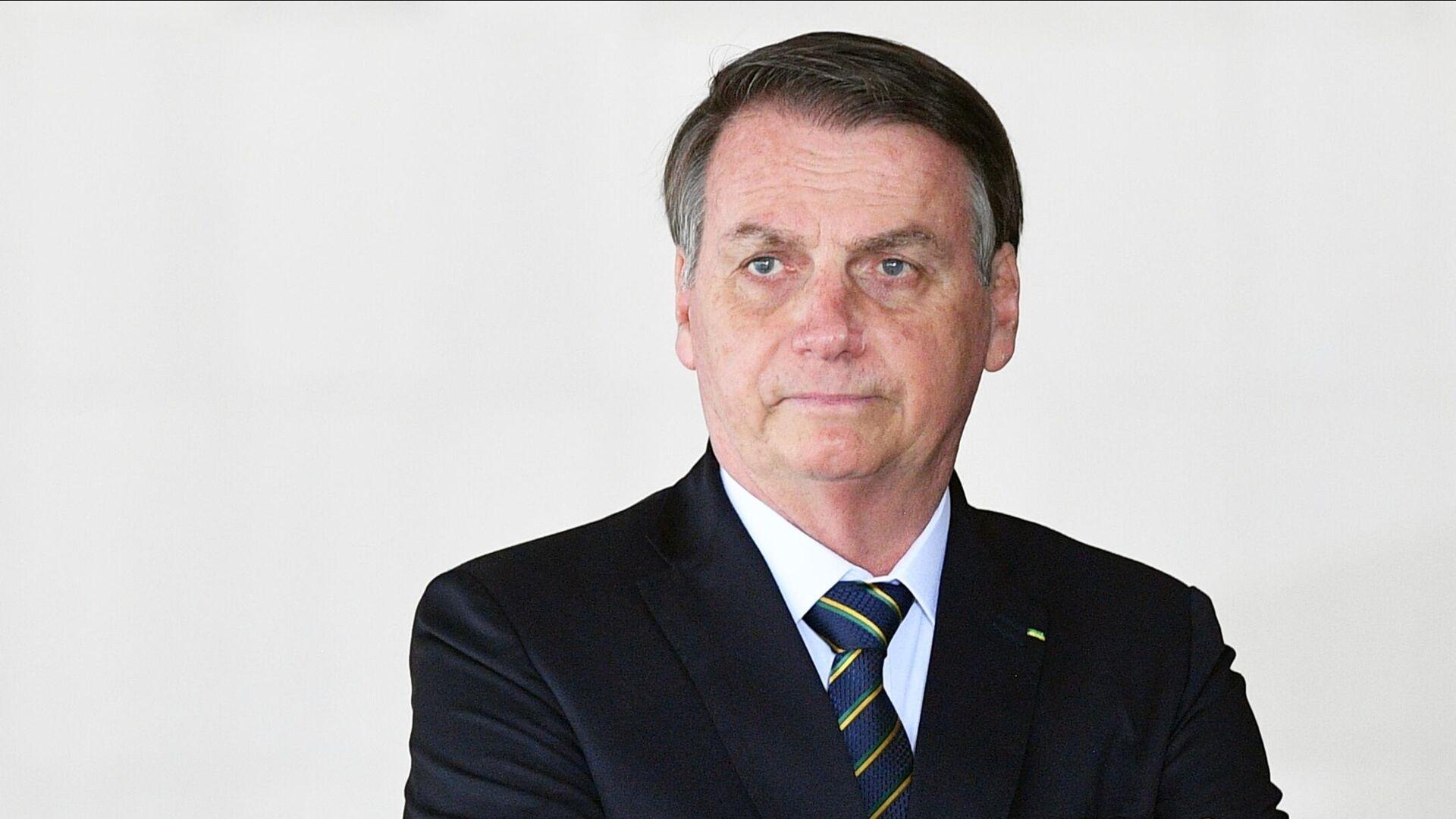 Президент Бразилии Жаир Болсонару - РИА Новости, 1920, 21.09.2021