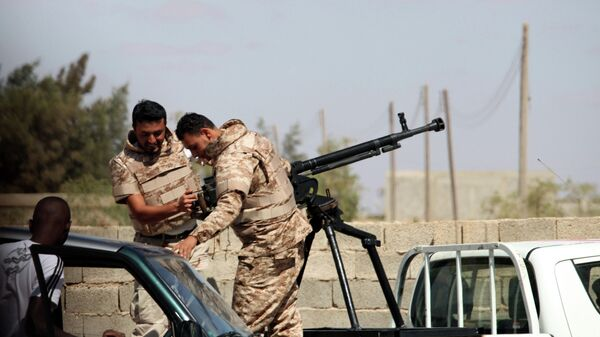 Солдаты Ливийской национальной армии