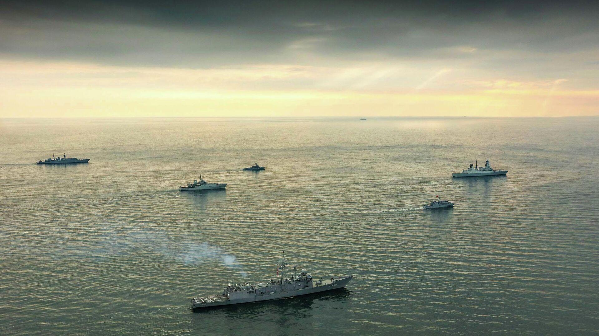 Корабли НАТО в Черном море - РИА Новости, 1920, 19.08.2020