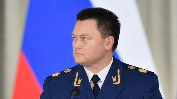 Генеральный прокурор РФ Игорь Краснов на расширенном заседании коллегии Генеральной прокуратуры