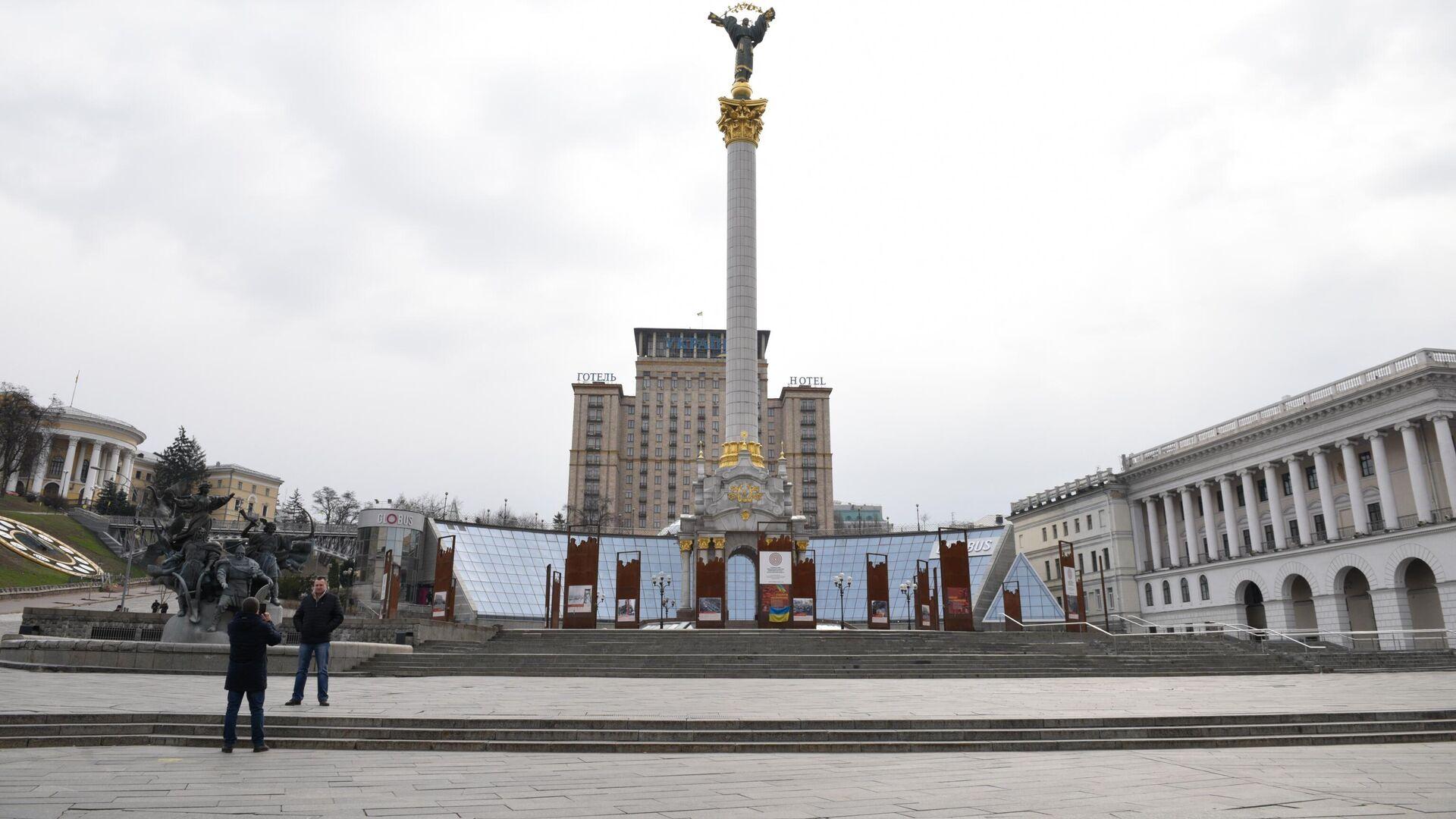Площадь Независимости в Киеве - РИА Новости, 1920, 11.01.2021