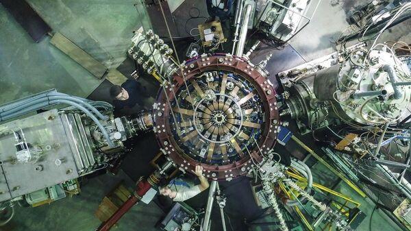 Сферический токамак Глобус-М Физико-технического института имени А. Ф. Иоффе в Санкт-Петербурге