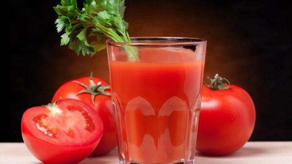 Томатный сок и помидоры