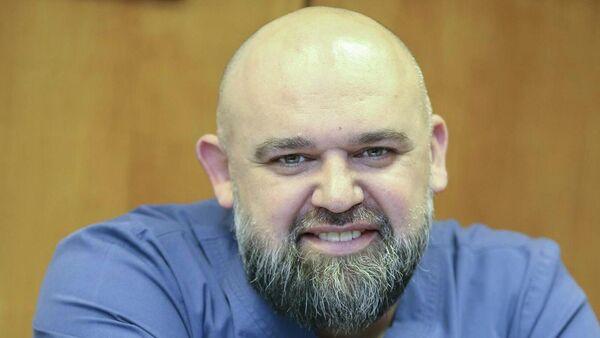 Главный врач Московской городской больницы №40 Денис Проценко