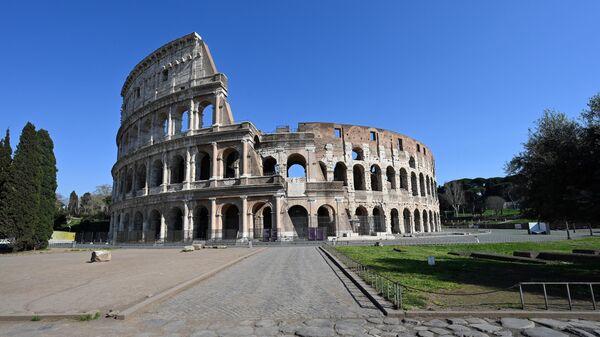Колизей в Риме. 20 марта 2020 года