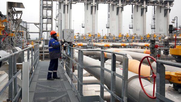 Компрессорная станция Казачья, входящая в систему газопроводов для обеспечения поставок газа для Турецкого потока