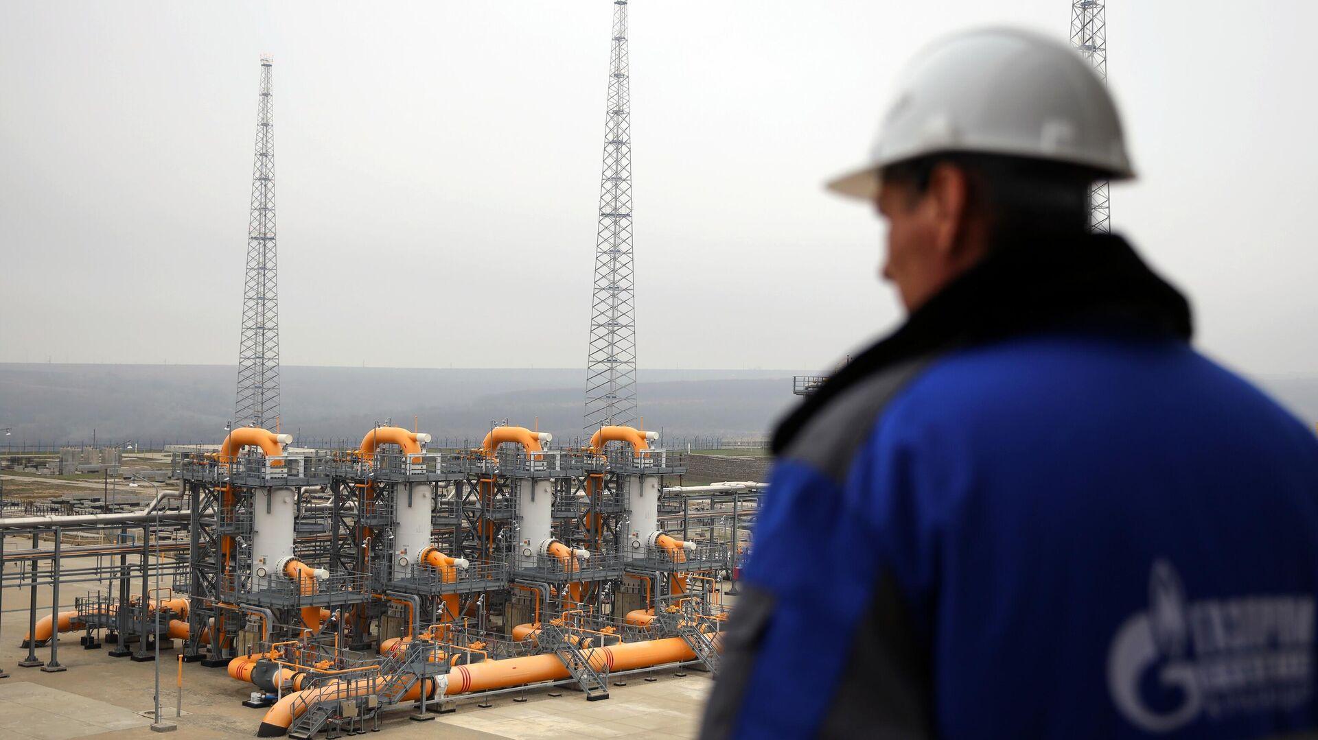 Компрессорная станция Казачья, входящая в систему газопроводов для обеспечения поставок газа для Турецкого потока - РИА Новости, 1920, 15.07.2021