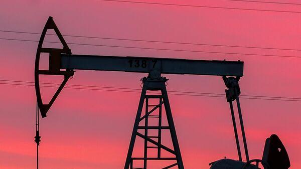 Нефтяная качалка в Республике Татарстан