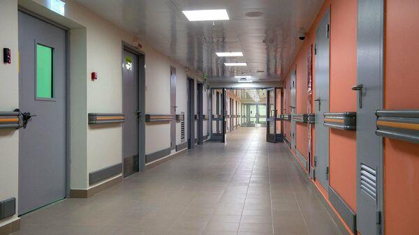 Отделение для больных с подозрением на коронавирусную инфекцию в ГКБ №67