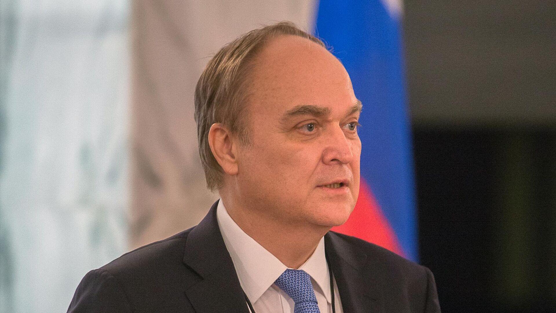 Посол РФ в США Анатолий Антонов - РИА Новости, 1920, 24.10.2020