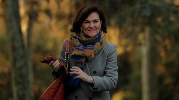 Вице-премьер Испании Кармен Кальво Пойято