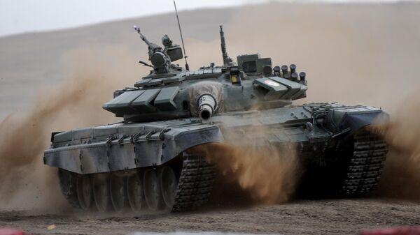Танковый биатлон в Забайкалье