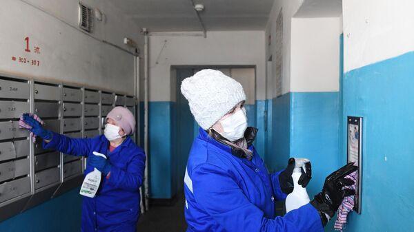 Дезинфекция жилого многоквартирного дома в Казани