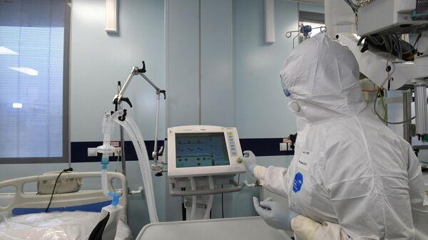 Реанимационное отделение больницы