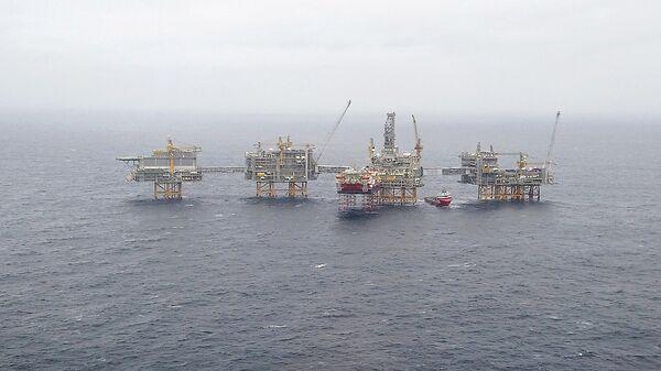 Нефтяное месторождение Equinor Johan Sverdrup в Северном море, Норвегия