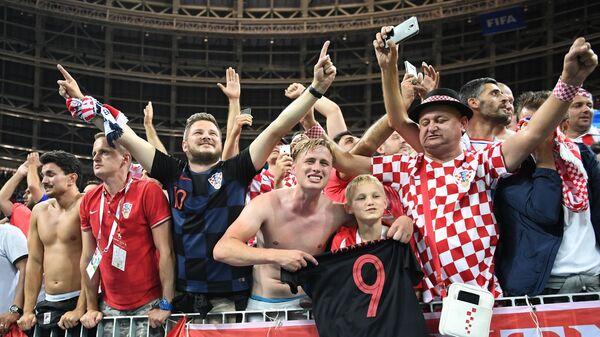 Футбол. ЧМ-2018. Матч Хорватия - Англия
