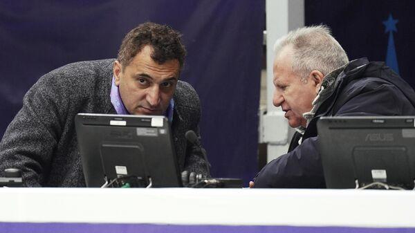 Ари Закарян (слева) и Александр Лакерник