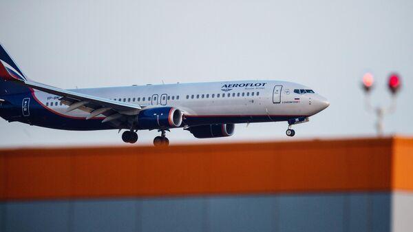 Пассажирский самолет Boeing 737-800 компании Аэрофлот