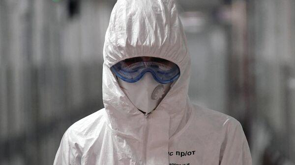 Медицинский работник в Филатовской больнице