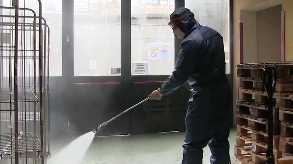 Санобработка помещений пансионата Кардинала Джорджо Гусмини в Вертове