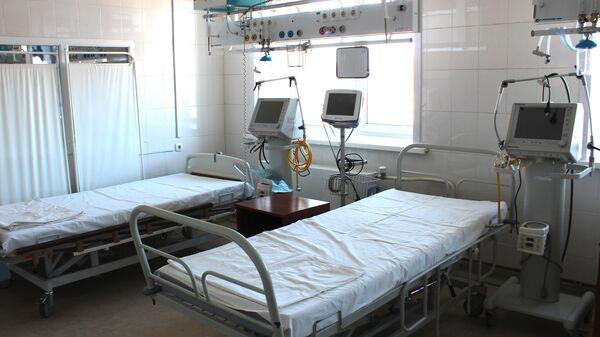 В больнице, которая полностью перепрофилирована под моностационар для больных с коронавирусной инфекцией
