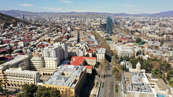 Вид на Тбилиси, Грузия