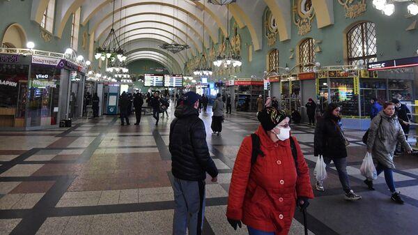 Зал Казанского вокзала в Москве