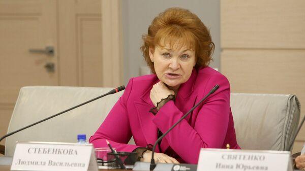 Председатель комиссии МГД по здравоохранению и охране общественного здоровья Людмила Стебенкова
