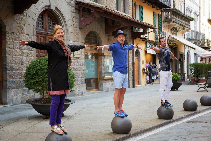 Митя Фомин на даче в Тоскане, Италия