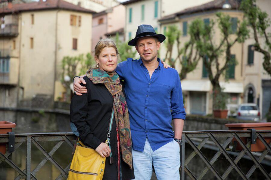 Митя Фомин и Светлана в Тоскане, Италия