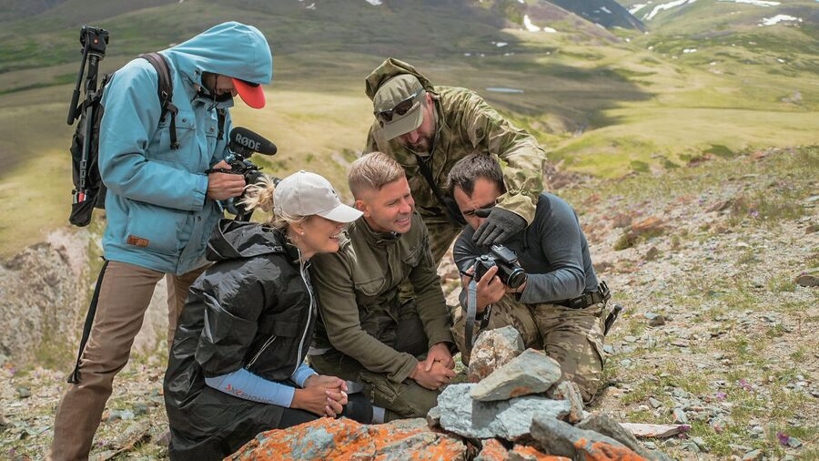 Митя Фомин с экспедицией WWF в Сайлюгемском национальное парке
