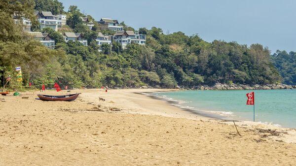 Пляж Найтон на острове Пхукет в Таиланде