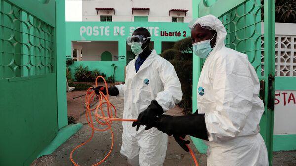 Дезинфекция в Дакаре, Сенегал