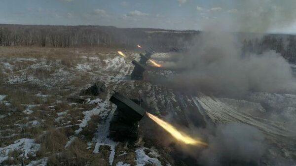 В Приамурье прошли испытания Градов с использованием беспилотника