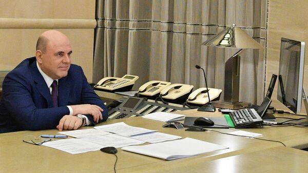 Премьер-министр Михаил Мишустин проводит совещание с депутатами Государственной думы