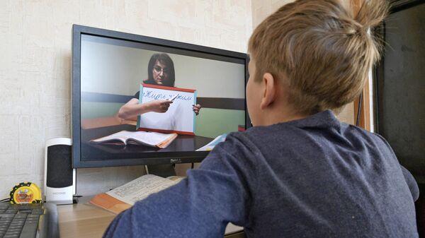Дистанционное обучение школьников в Санкт-Петербурге