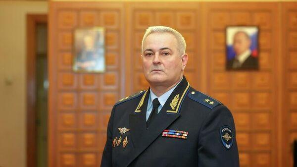 Начальник Следственного департамента Министерства внутренних дел Российской Федерации генерал-полковник юстиции Александр Романов