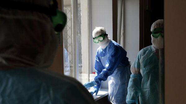 Госпиталь для лечения больных коронавирусом