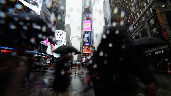 Площадь Таймс Сквер в Нью-Йорке