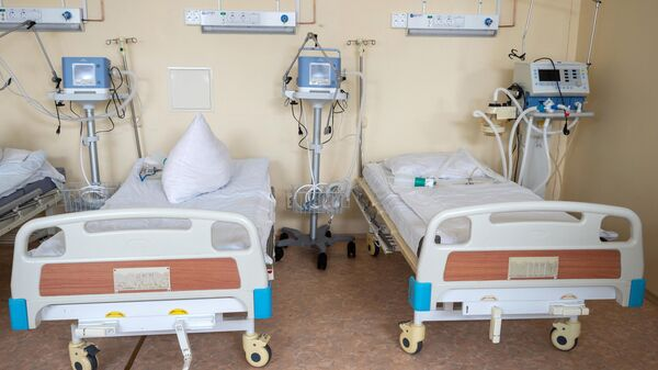 Реанимационное отделение в госпитале