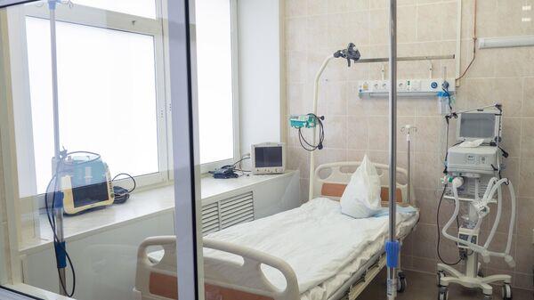 Палата в стационаре для лечения больных с коронавирусной инфекцией