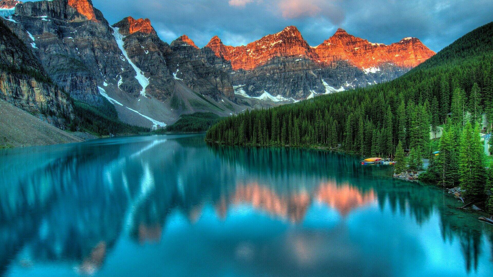 Национальный парк Банф в провинции Альберта, Канада  - РИА Новости, 1920, 26.10.2020
