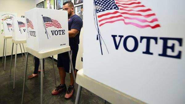 Голосование на промежуточных выборах в конгресс США. Архивное фото