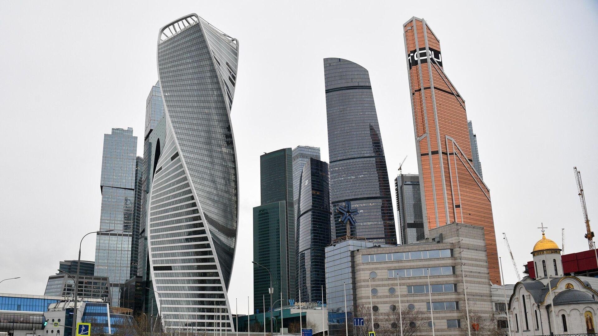 Международный деловой центр Москва-Сити - РИА Новости, 1920, 16.09.2020