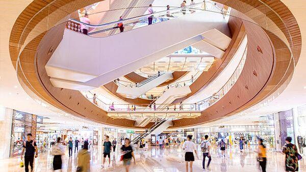 Торговый комплекс Taikoo Hui Guangzhou в Гуанчжоу, Китай