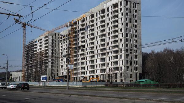 В Москве приостановлено строительство в связи с коронавирусом
