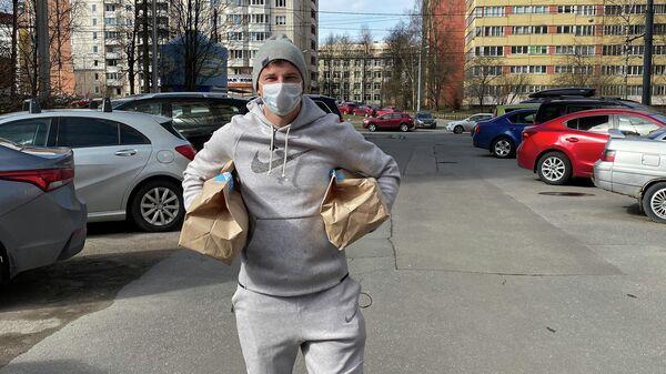 Андрей Аршавин принял участие в волонтерской программе